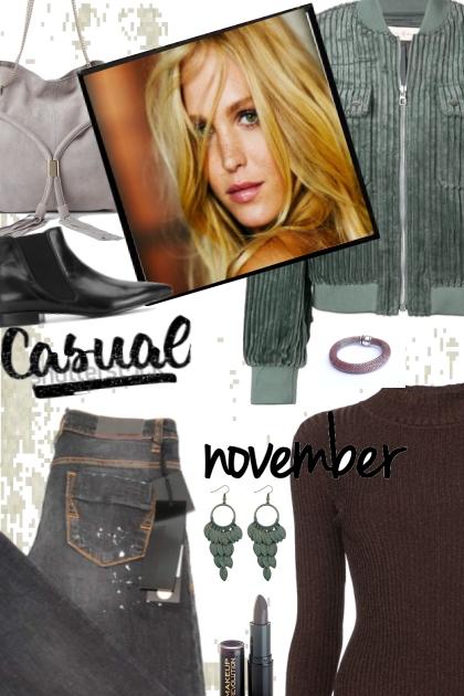 CASUEL NOVEMBER- Fashion set