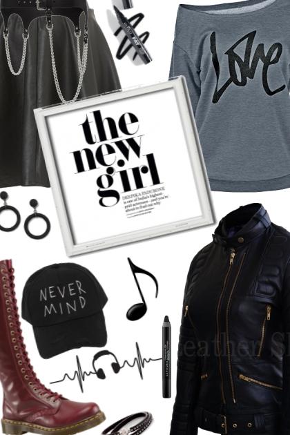 girl in concert
