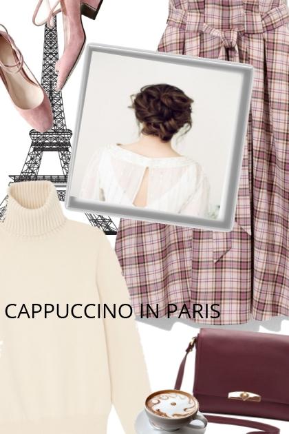 CAPPUCCINO IN PARIS