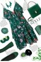 Green Florals 2