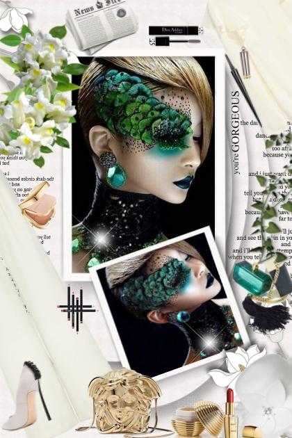 Wonderful makeup art by bluemoon