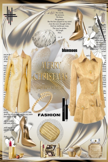 Fashion in Gold by bluemoon