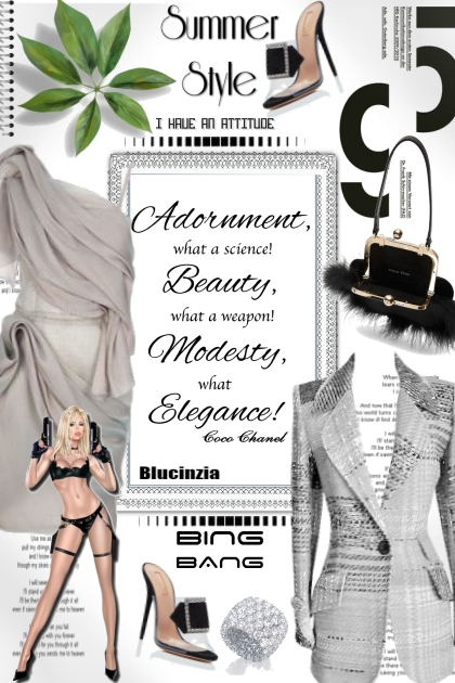 Adornment Beauty Modesty Elegance by bluemoon