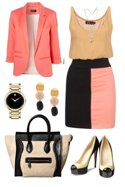 Rectangle fashion forward office