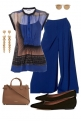 Blue palazzo