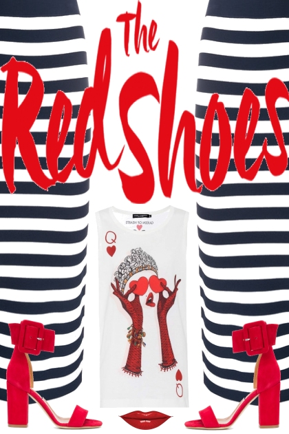 The red shoes- Fashion set