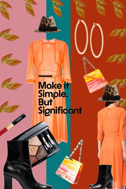 Simple But Significant- Fashion set