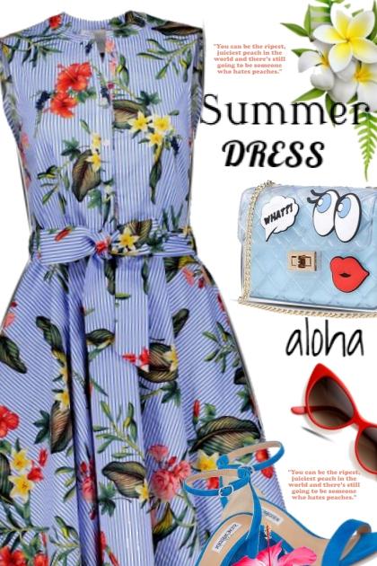 Summer Dress / Aloha