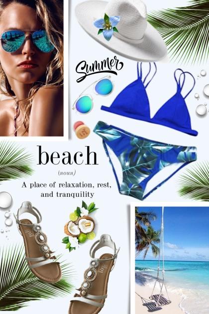 BEACH TIME- Fashion set