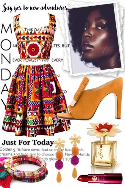 Monday- Combinaciónde moda