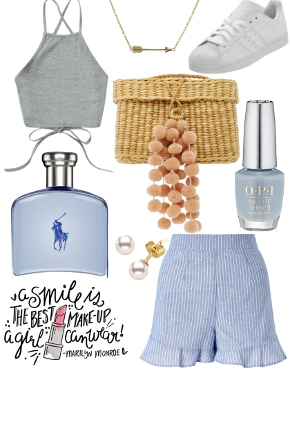 pretty in baby blue