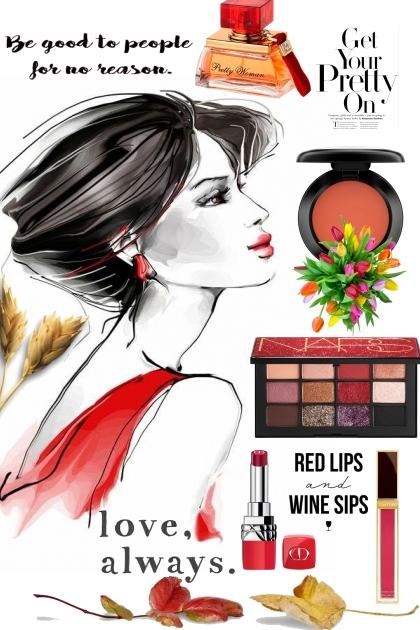 Beauty in Red!- Modna kombinacija