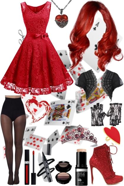 Regina Heart - Corronation Outfit