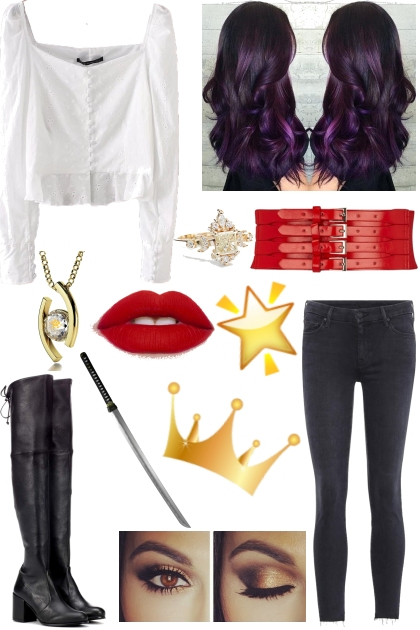 Roman Inspired Outfit