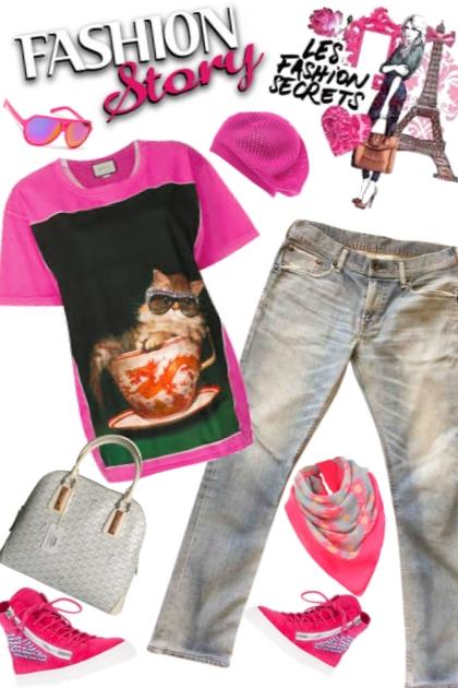 cool cats fashion story