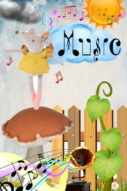 the mushroom , the mouse, and the music
