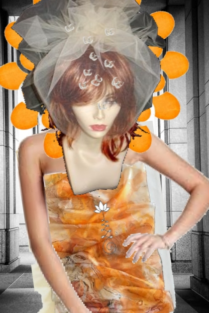 ORANGE U GLAD 2 BE A BRIDE