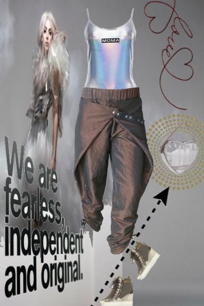 fearless love 4 metalic fashion
