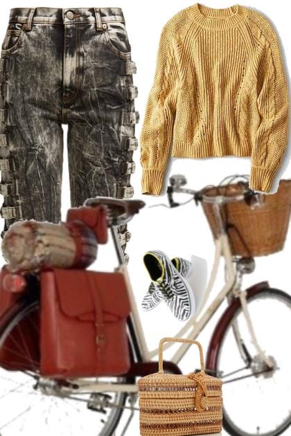 casual bike ride