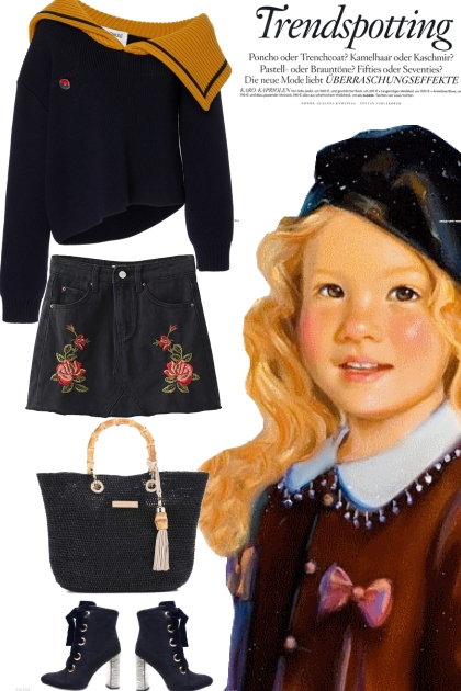 trend spotting  school girl