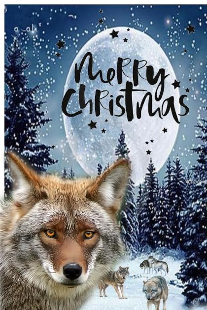 wolf packs merry christmas