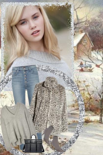 warm winter fur