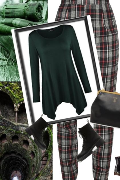 the meanest greenest fashion trends- Modna kombinacija