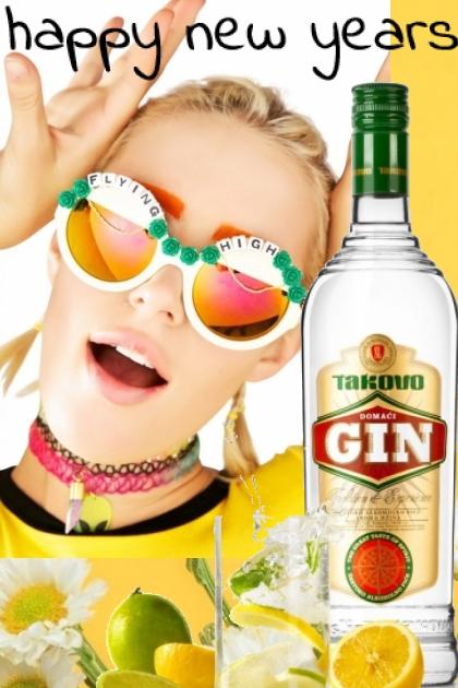 gin will bring a happy new years- Modna kombinacija