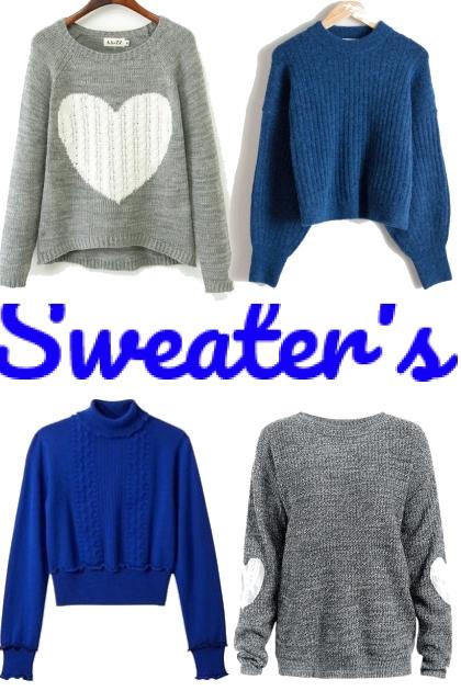 sweaters- Modna kombinacija