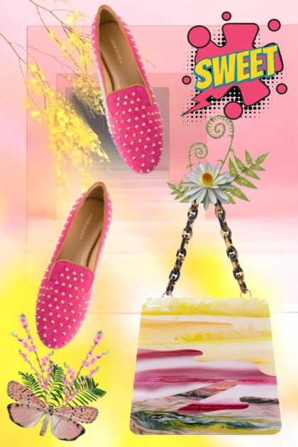 sweet spring style- Fashion set