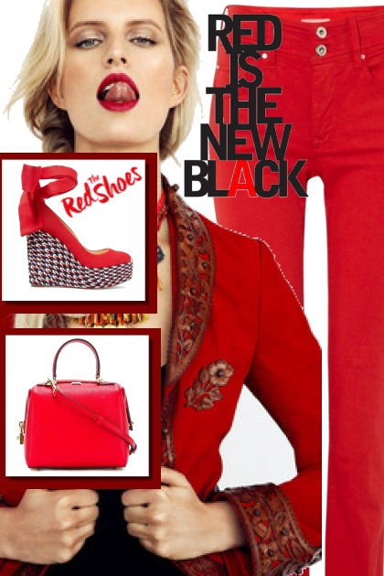 red is the black 4 valentines