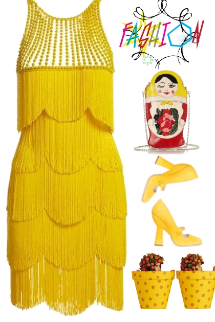 yellow n red fashion trends