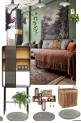 use earthy tones 2 make warm cozy living space