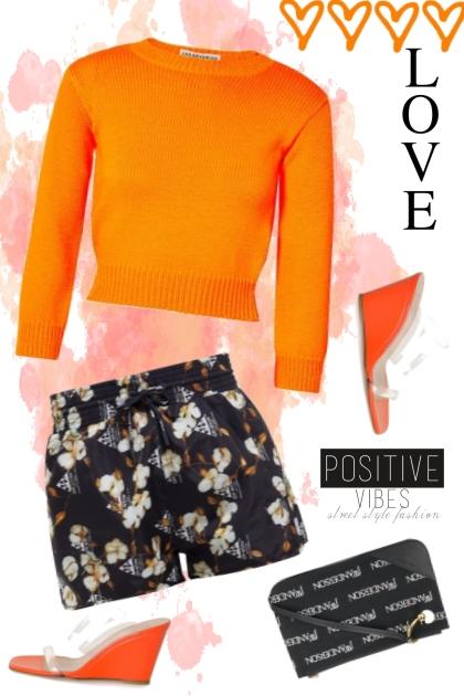 bright colors w/ dark florals