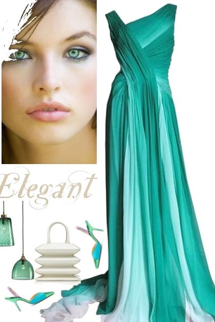 teal elegance