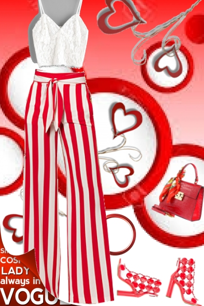 4 THE LUV OF RED AND WHITE
