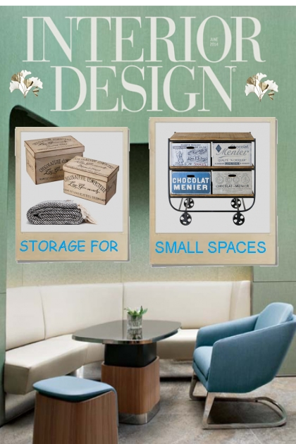 STORAGE 4 SMALL SPACES