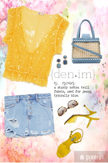 SUNNY DAYS PERFECT 4 DENIM PLAY