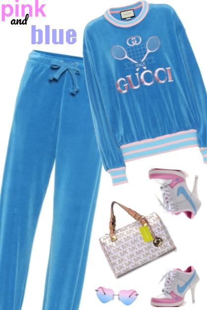 blue n pink gucci sport