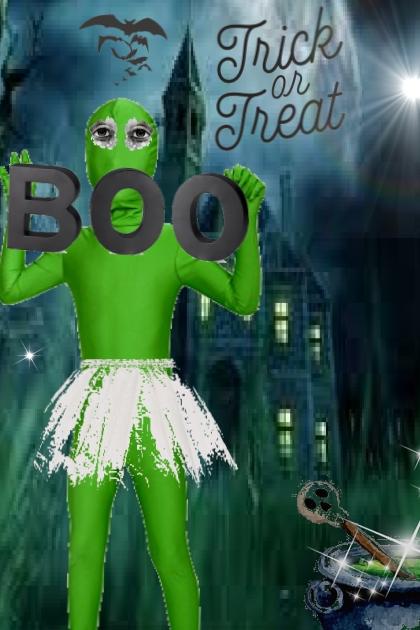 boo -ya   green suit