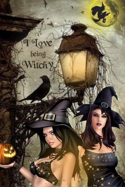 i love being witchy