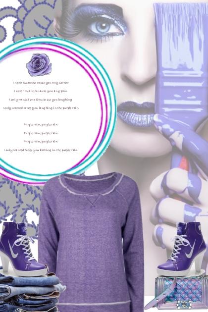 casual millennial purple