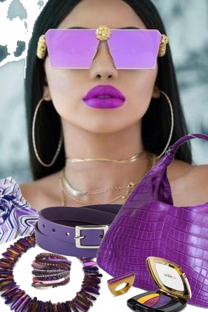 dress it up purple craze