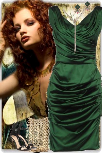 emerald green glamorous