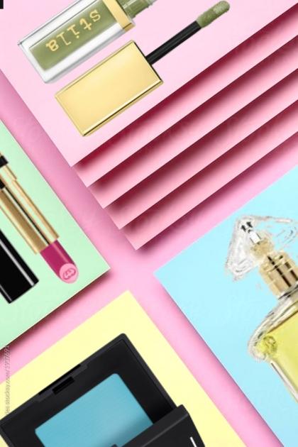 colorful  palette- combinação de moda