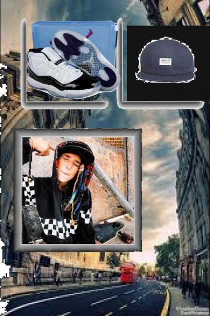 MY STREET WEAR- Modna kombinacija