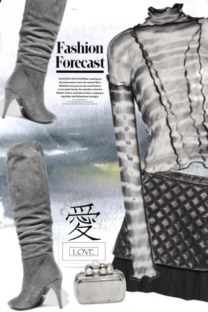 a grey fashion forecast