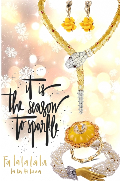 tis the season 2 sparkle fa la la....