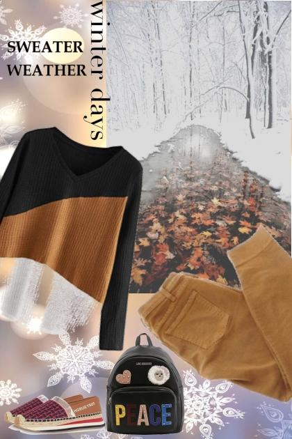 winter sweaters n pants