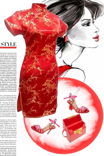 Asian styled outfit